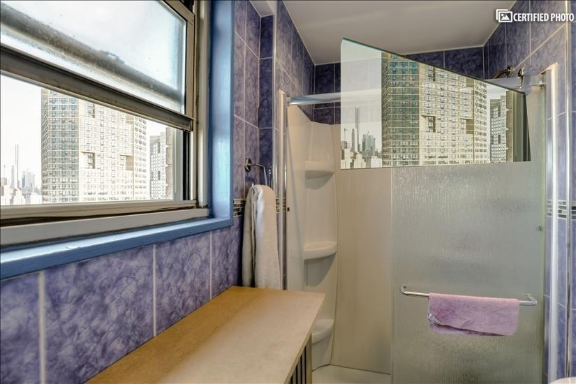 Stand up Shower in Master Bedroom