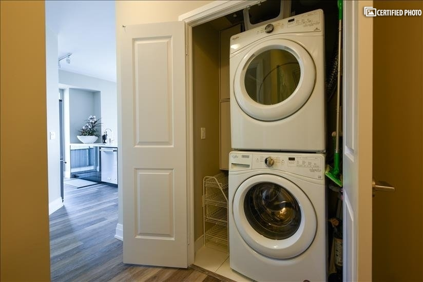 Upgraded washer and dryer