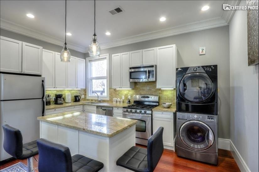 Kitchen - washer dryer