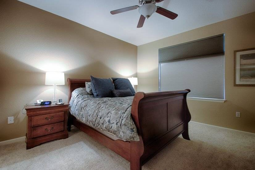 Master Bedroom w Blackout Shades