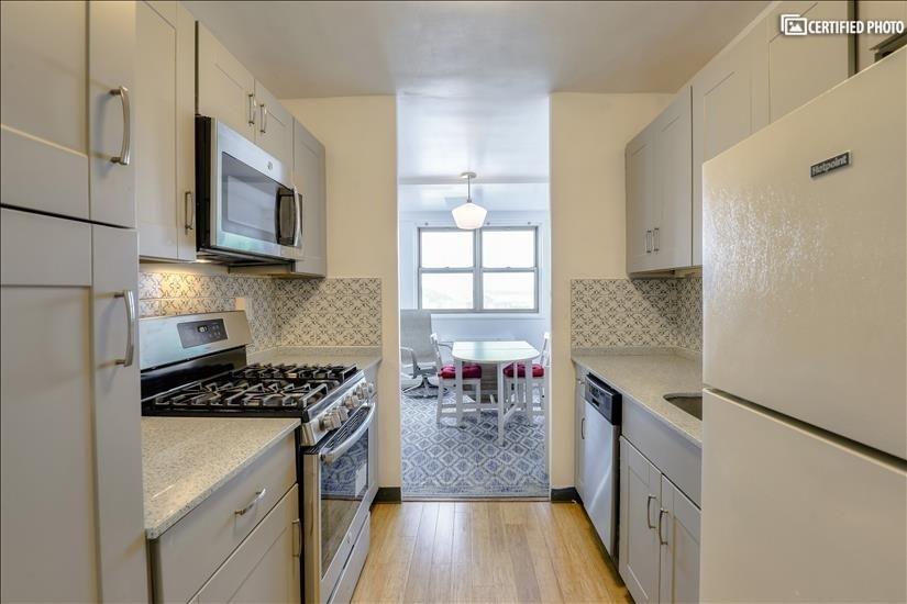 Looking thru Kitchen to Dinette Space