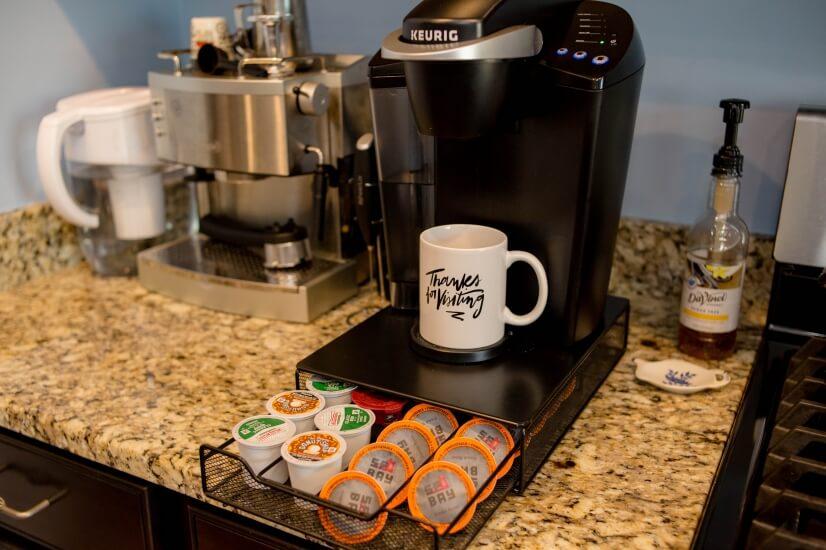 Keurig & espresso machine available