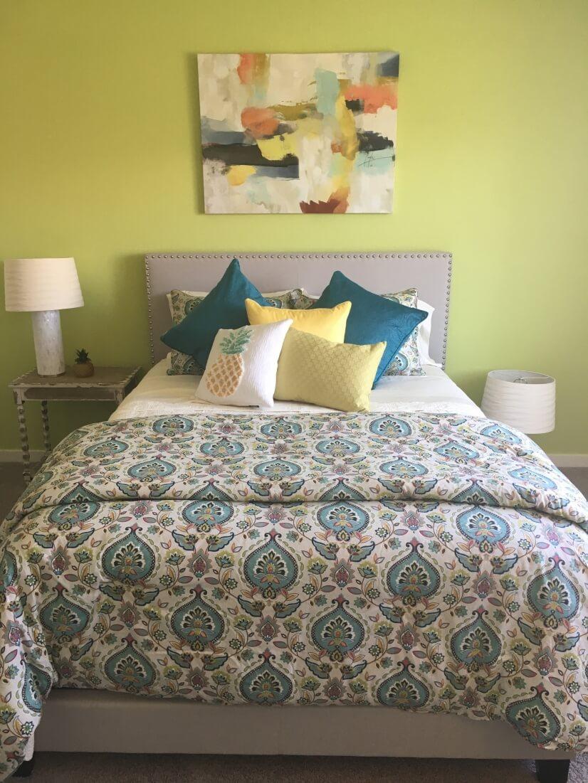 Huge master bedroom #1 with queen bed