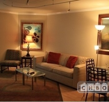Furnished 1 Bedroom Condo in Barclay Tow