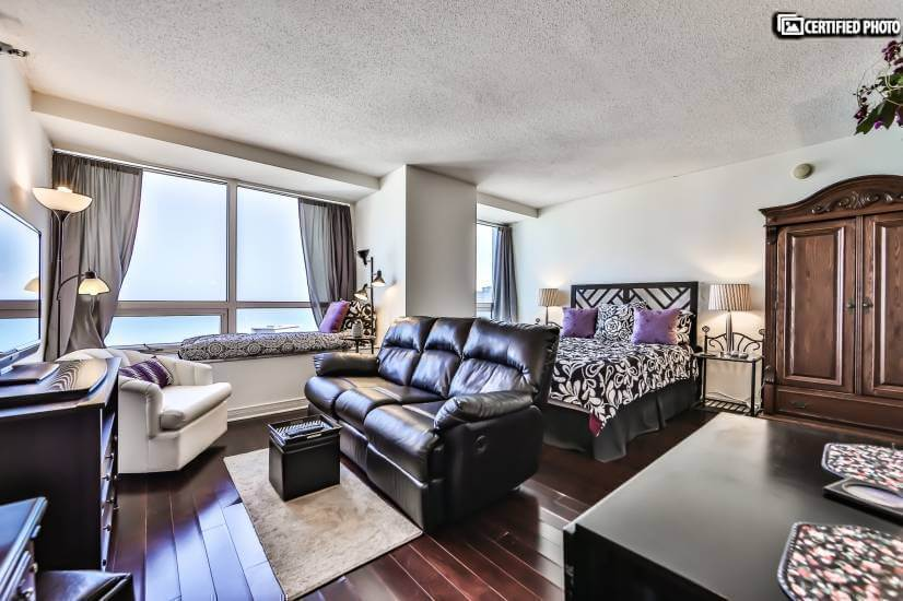 55th Floor Furnished Lake View Studio