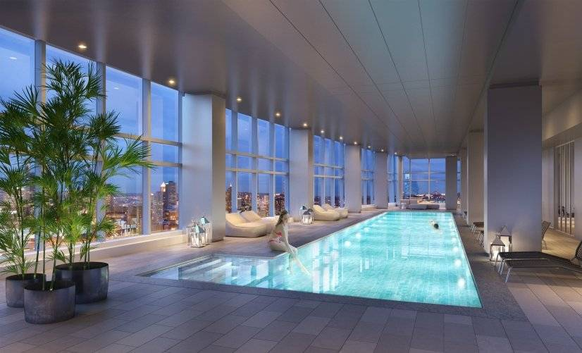 Level28 Amenity Space - Pool