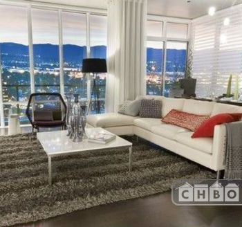 Spire Living Area with TV