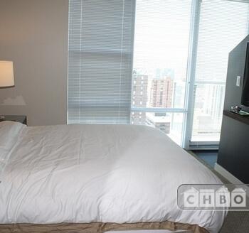 Master Bedroom, TV & View