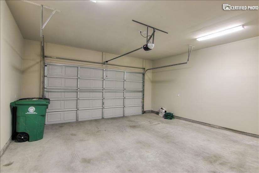 Spacious 2 car garage!