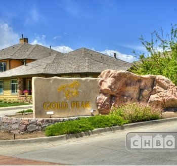Gated Entry before arriving at Gold Peak community.