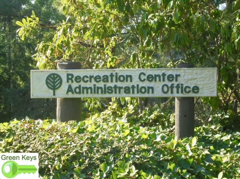 Rec Center Sign