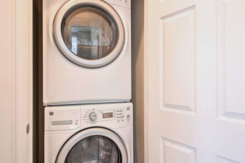 in-unit laundry facility