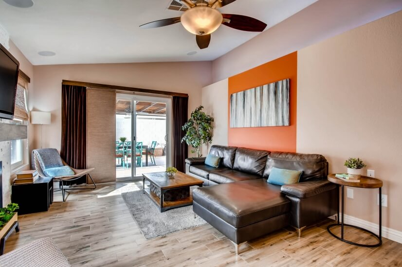 image 5 furnished 2 bedroom House for rent in Spring Valley, Las Vegas Area