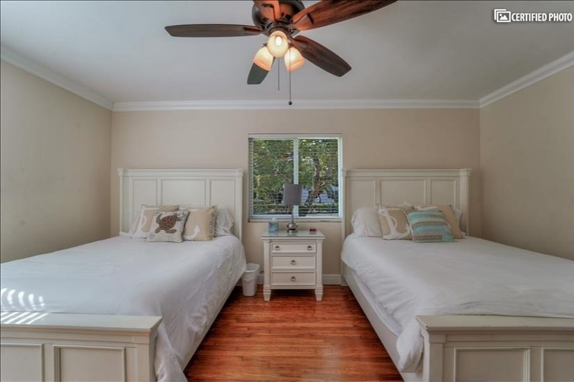 Comfortable queen size beds and plenty of space.
