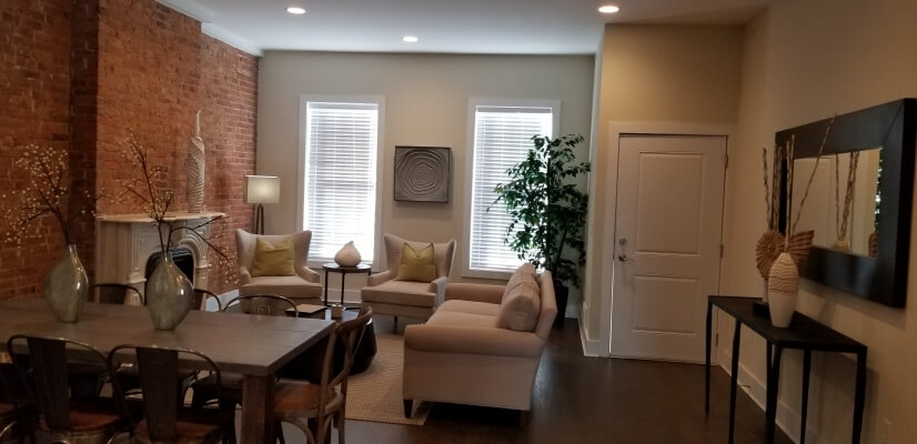 image 2 furnished 3 bedroom Townhouse for rent in Newark, Essex County