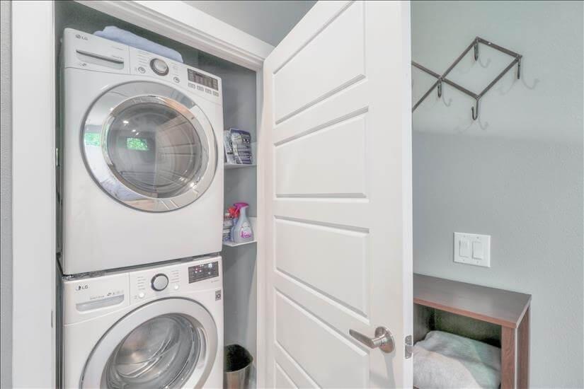 Private Laundry In Unit