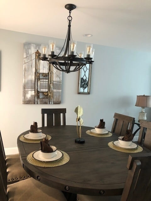 Each dining room has it's own character