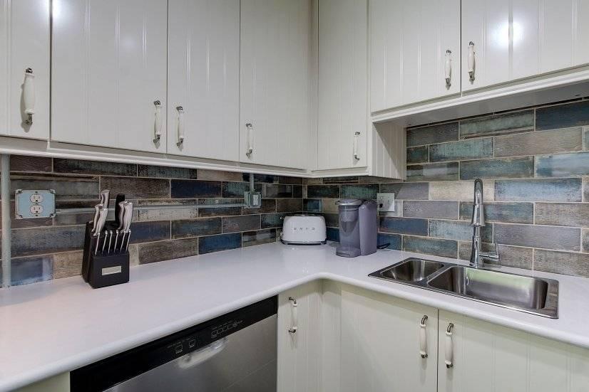 Kitchen with Keurig and Smeg Toaster