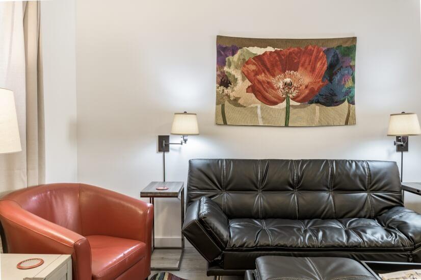 Living room closeup