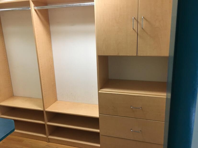 Walk-in closet. Plenty of Storage