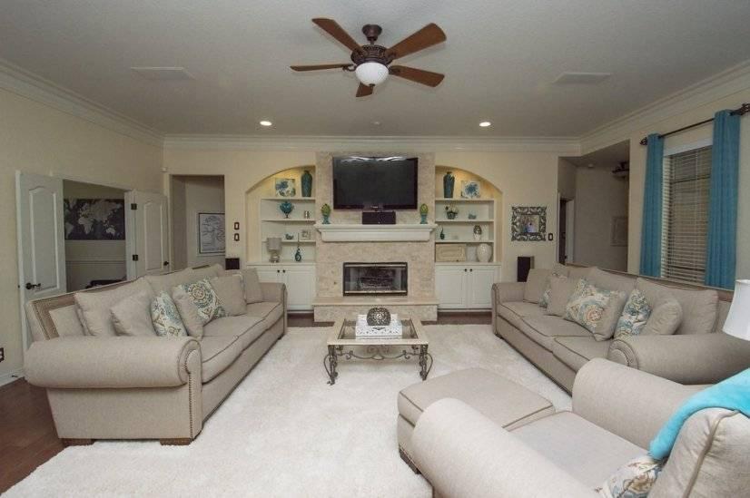 Oversized Living Area