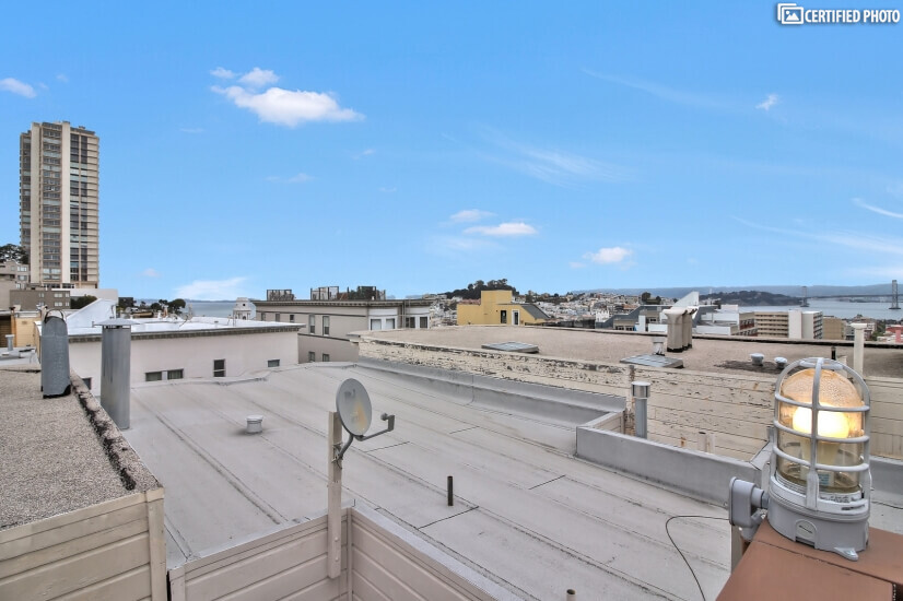 Roof Deck w/ Spectacular View san francisco furnished rental