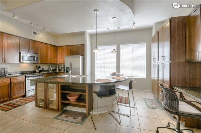 Kitchen with Desk area