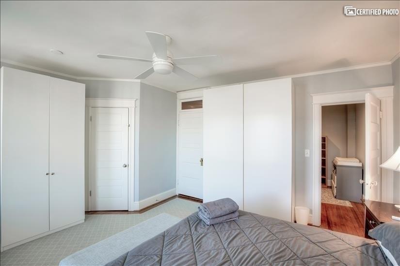 Built-in wardrobes in Master bedroom