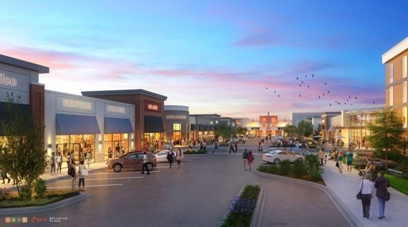 Fab brand new shopping, restaurants, cinema One Bellevue Pl