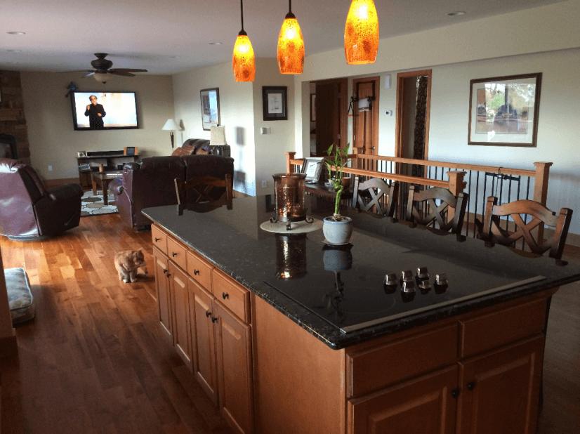 Kitchen Island Main Level