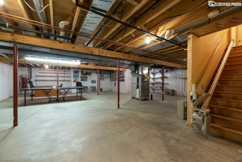 Basement with Chair Lift Access