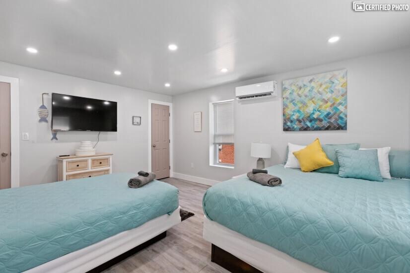"""Bedroom 50"""" Smart TV"""