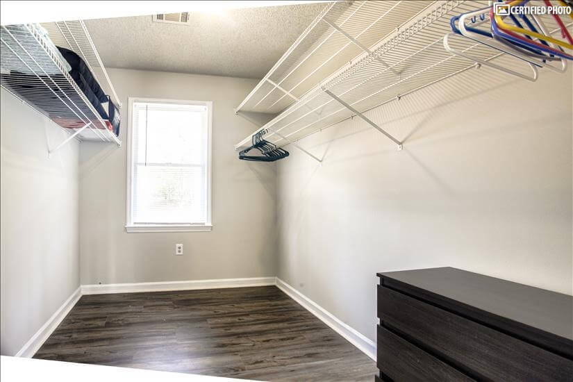 Large closet in 5th bedroom upstairs.