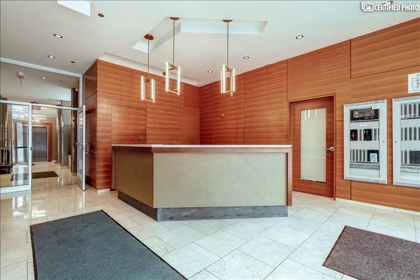 Secure lobby - 24-hour Concierge