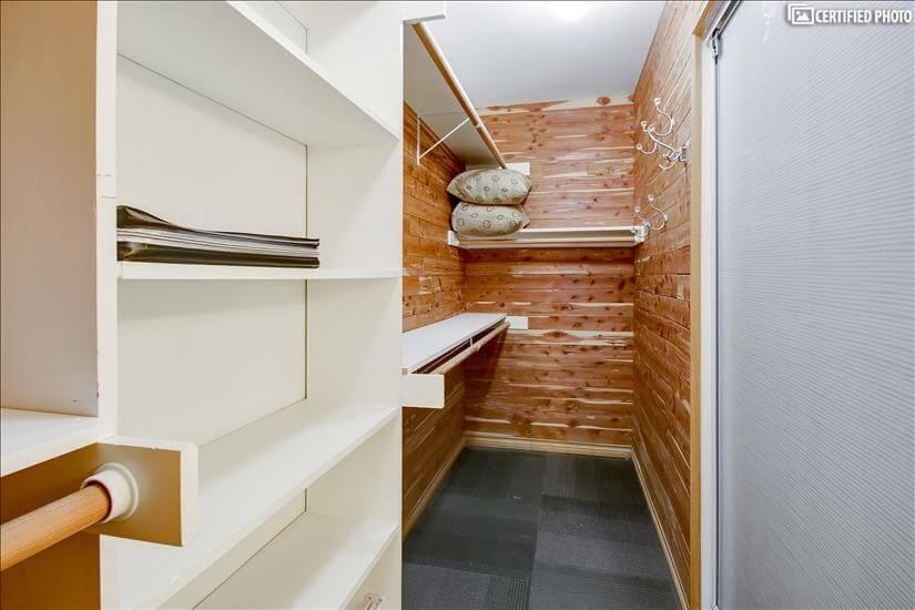 MBR Cedar lined closet 2