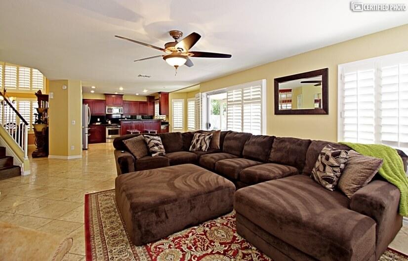 Massive Comfortable Sectional Sofa