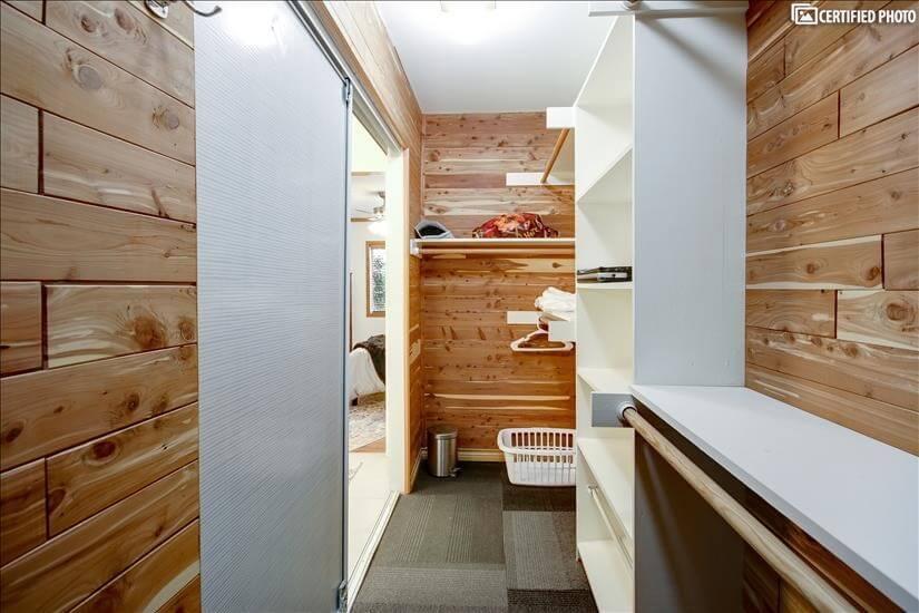 MBR Cedar lined closet 3