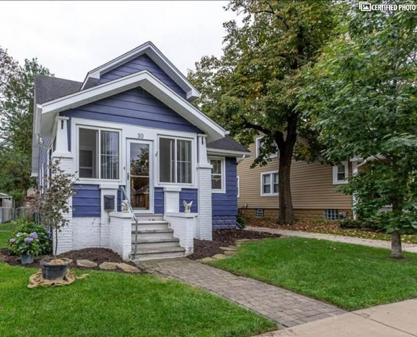 Bungalow style in historic Pleasant Ridge. A