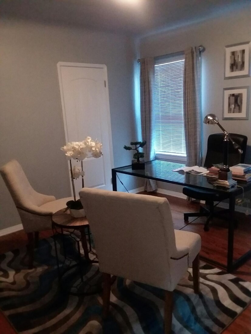 3rd bedroom converted to office. Can change to bedroom