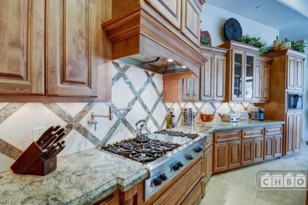 Chef-ready kitchen with Wolf appliances and Sub-zero refrige