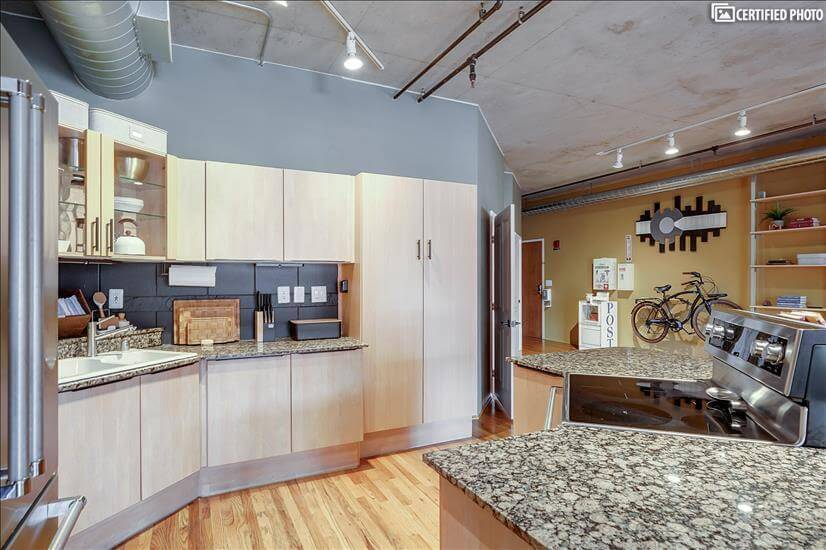 Extensive European Cabinetry including large pantry