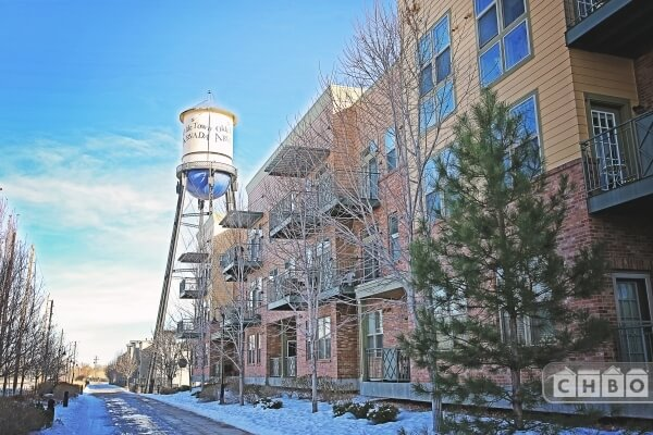 Lofts in the new Water Tower Loft development in Olde Town A