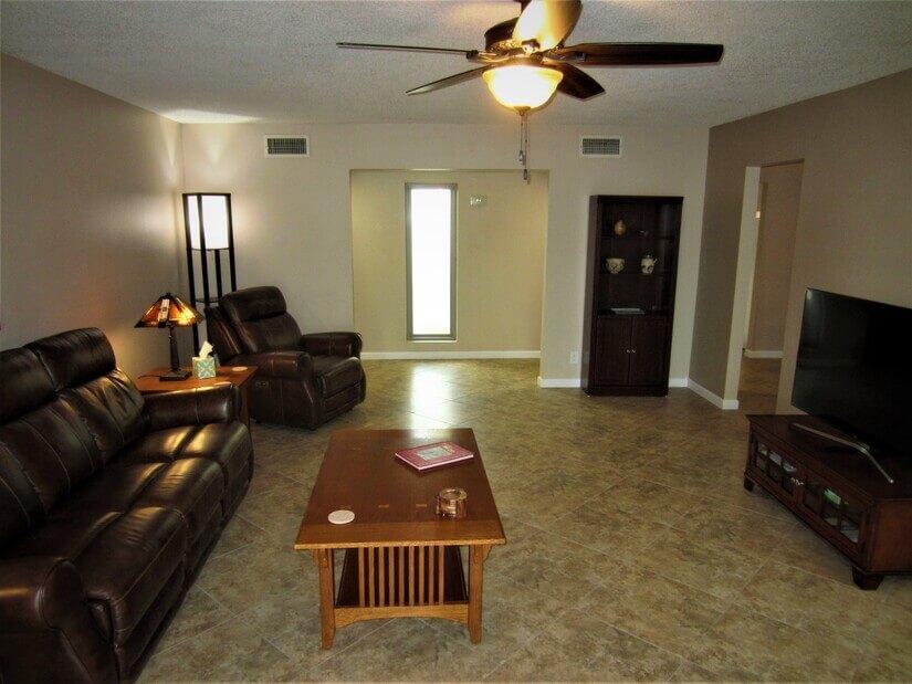 Living Room looking towards front hallway