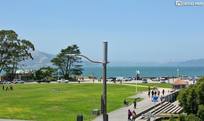 Path to Golden Gate Bridge