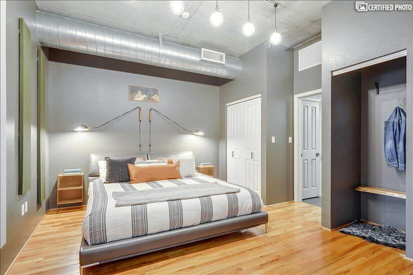 Executive and Elevated Master Bedroom with King Bed