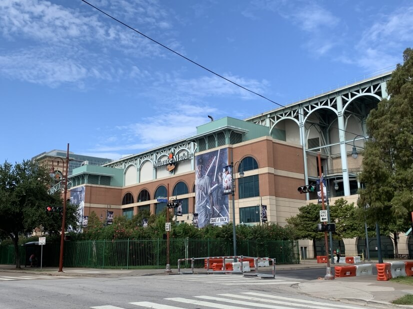 Minute Maid Park, 2 blocks from home.