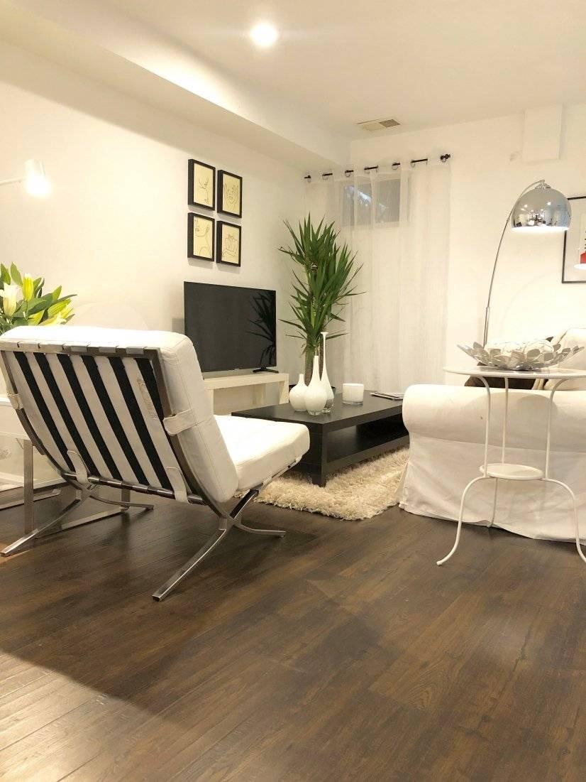 Love our stylish modern chair & sleeper sofa