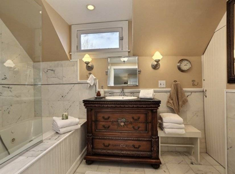 Master suite number 1 bath with jacuzzi tub and shower
