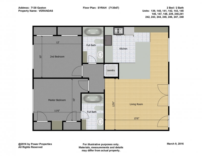 Syrah Floor Plan