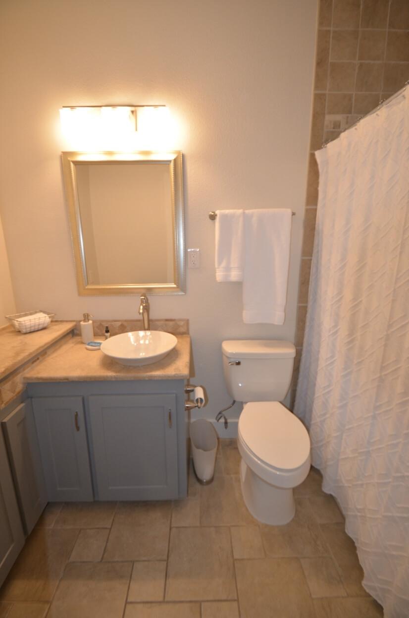 Front bedroom bathroom